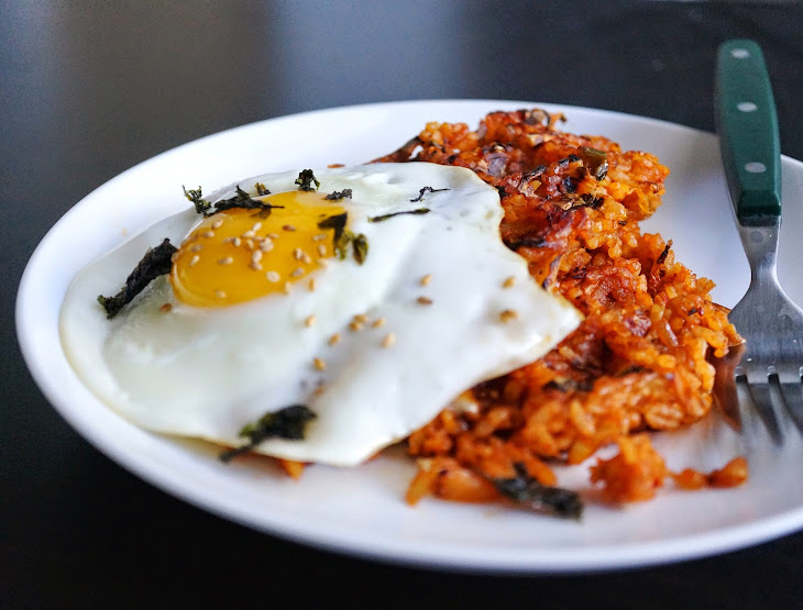 Waffle Kimchi Fried rice