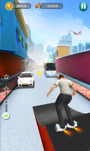 Hoverboard Surfers 3D by TerranDroid (Google Play, United