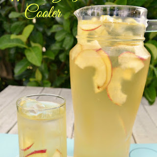 Apple and Ginger Cooler.