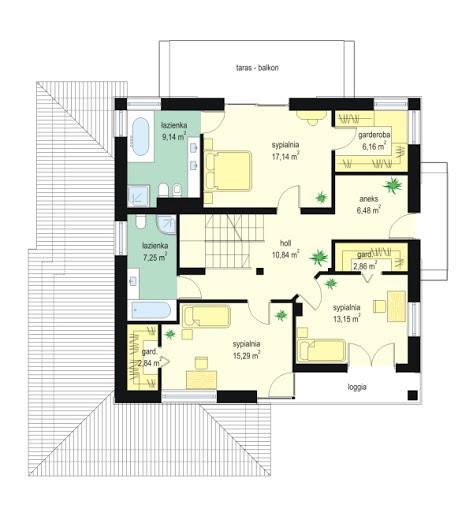 Opal 2 - Rzut piętra