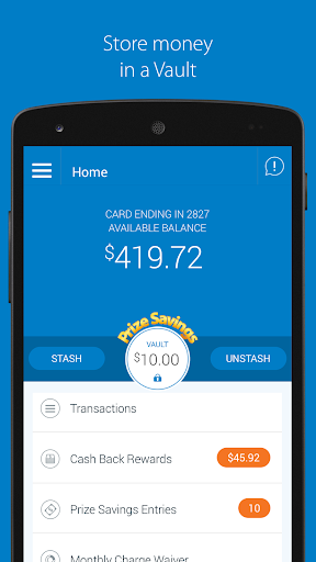 Walmart MoneyCard Screenshot