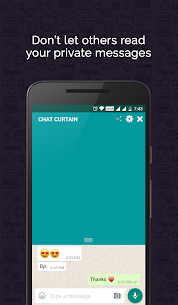 Download Chat Curtain App For Android 1
