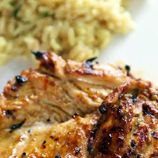 BBQ Ranch Grilled Chicken.