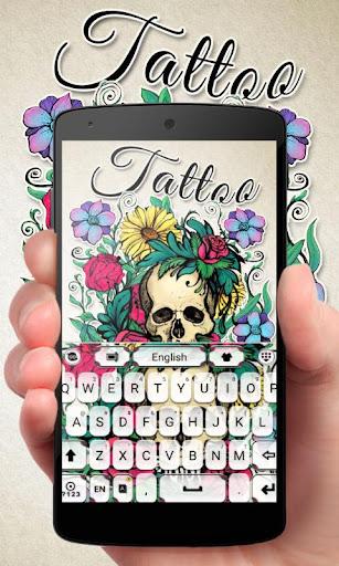Tattoo GO Keyboard Theme Emoji