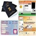 Aadhar, PAN, PNR, Passport icon
