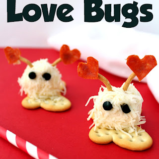 Cheese & Cracker Love Bugs
