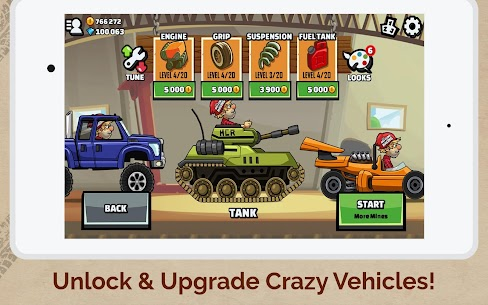 Hill Climb Racing 2 Apk MOD (Unlimited Money) 8