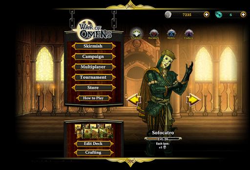 Code Triche War of Omens Deck Builder Collectible Card Game APK MOD (Astuce) screenshots 2