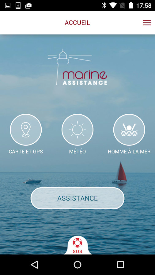 Marine Assistance- screenshot