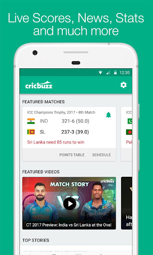 Cricbuzz - Live Cricket Scores & News 4.4.046 screenshots 1
