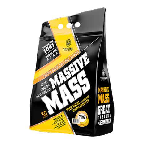 Swedish Supplements Massive Mass 3,5kg - Wild Strawberry