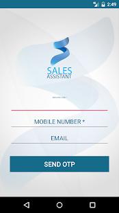 Sales Assistant screenshot