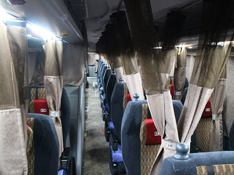 南海バス「サザンクロス」長野線 ・477 車内
