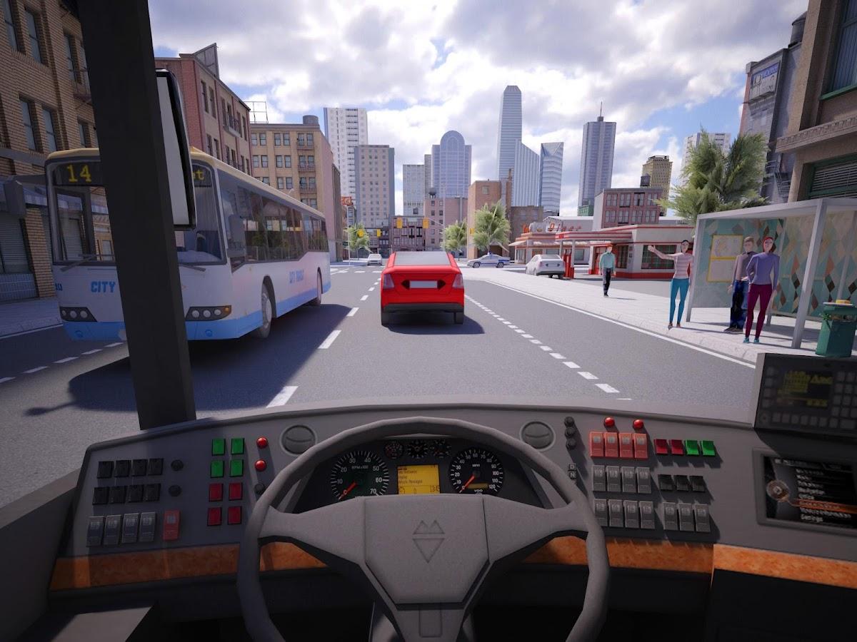 Bus Simulator PRO 2016- tangkapan layar