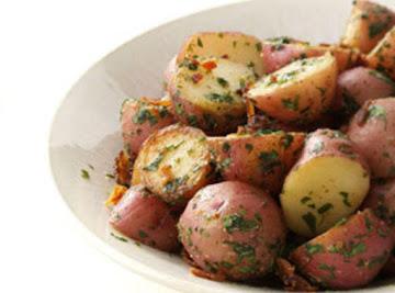Herb Garlic Red Potatoes Recipe