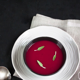 Roasted  Beet & Apple Soup