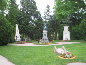 Photo: Central Cemetery is the final resting place on many great composers.