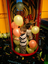 Photo: Balloons In a Wind Tunnel