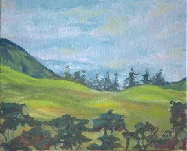 """Photo: """"Waimea Hills"""" - Anna's Ranch 8"""" x 10"""" (available from artist)"""