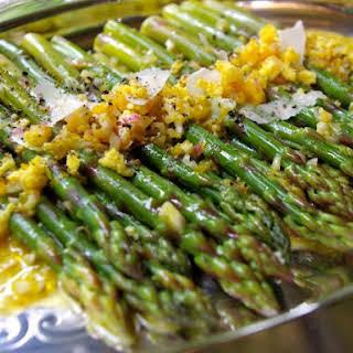 Asparagus with Orange Sauce.