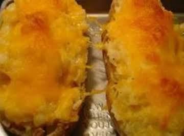 """""""Crab"""" Stuffed Potatoes"""