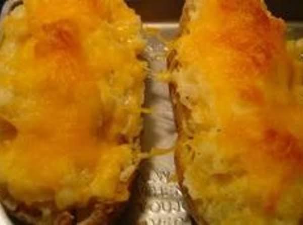 Crab Stuffed Potatoes