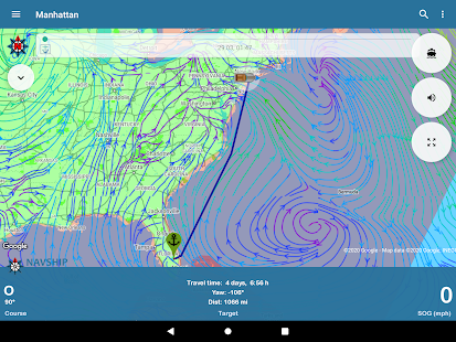 NavShip - Boat Navigation (USA & Europe) Screenshot