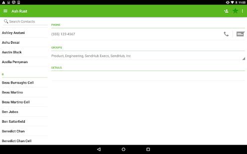 SendHub - Business SMS Screenshot 13