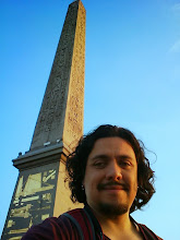 Photo: Selfie with the Obelisk in the Place de la Concorde