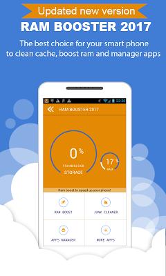Ram Booster 2016 - Cache Clean - screenshot