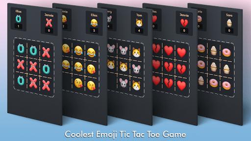 Tic Tac Toe Emoji - Online & Offline filehippodl screenshot 1