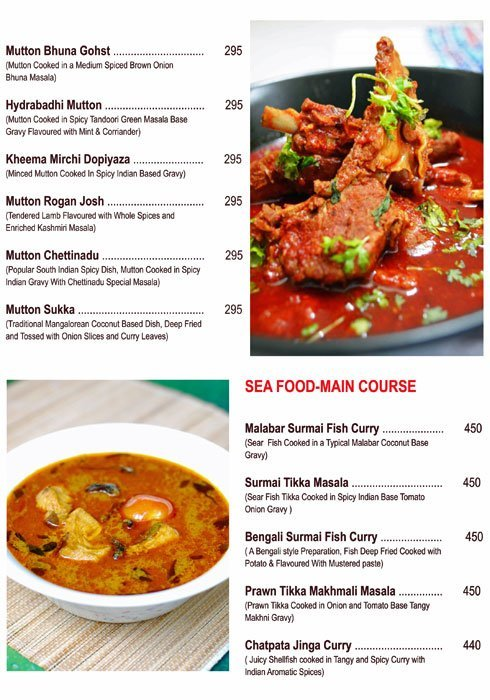 Chef's Bank menu 2