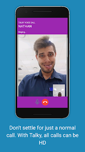 Talky: Free HD video & voice calls, chats, message - náhled