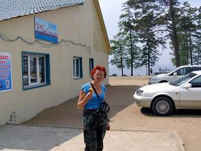 Photo: Кафе на берегу Байкала.