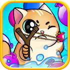 CUTE WARS PUZZLE BATTLE – Cats vs Dogs Match 3 icon