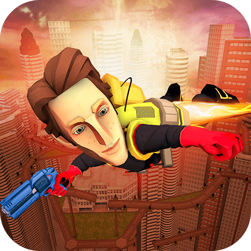Flying Hero Escape 3D game (apk) free download for Android/PC/Windows