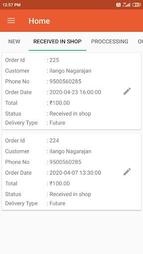 Egrocer- GroceryStores Order Management App screenshot 3