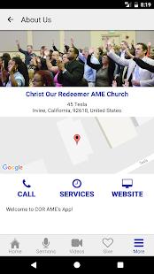 COR AME Church - náhled