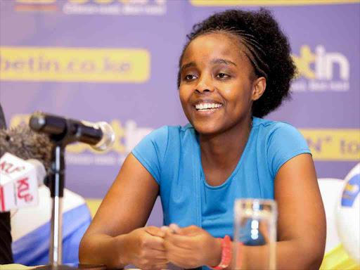 Office assistant Evalyne Karaba, 24, wins Sh20 million Betin
