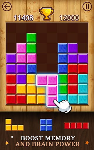 Block Puzzle - Wood Pop - screenshot