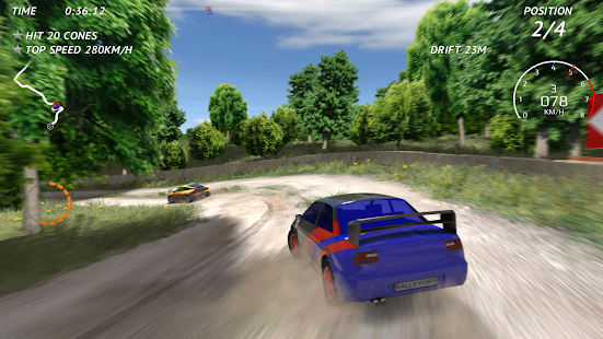 Rally Fury - Balap mobil reli ekstrim Screenshot