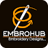 EmbroHub-Best Embroidery Designs App