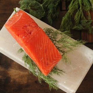 Cured Salmon.