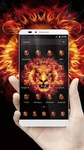 Lion Fire Theme - náhled