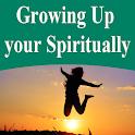 Growing up spiritually icon