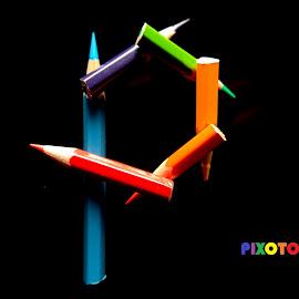 Pixoto by Sanjeev Kumar - Typography Single Letters