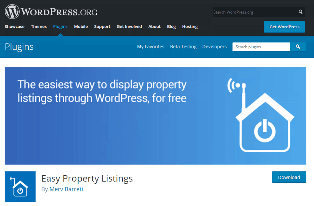 plugin wordpress easy property listings para imobiliaria