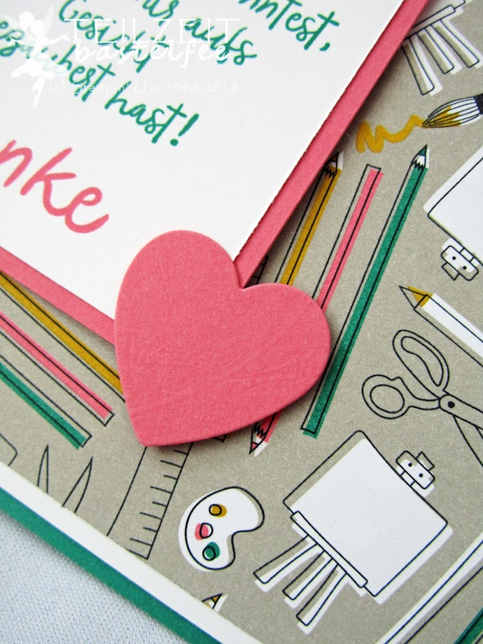 Stampin' Up!, Hearts a Flutter, Pick a Pattern, Muster & Motive