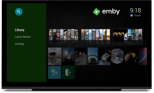 Emby for Android TV Mod