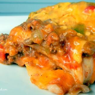 Crock Pot Enchiladas.